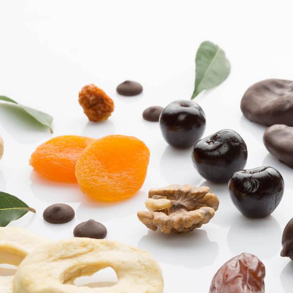 Garantujeme čistou přirozenou chuť ovoce, ořechů a čokolády   Frutree