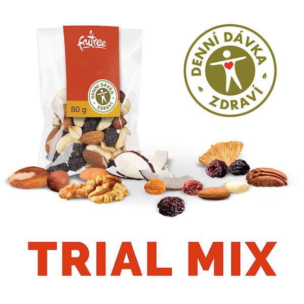 Trail Mix Variety Multi Pack efektivní a funkční snack pro nadprůměrný fyzický i mentální výkon   Fru'Tree