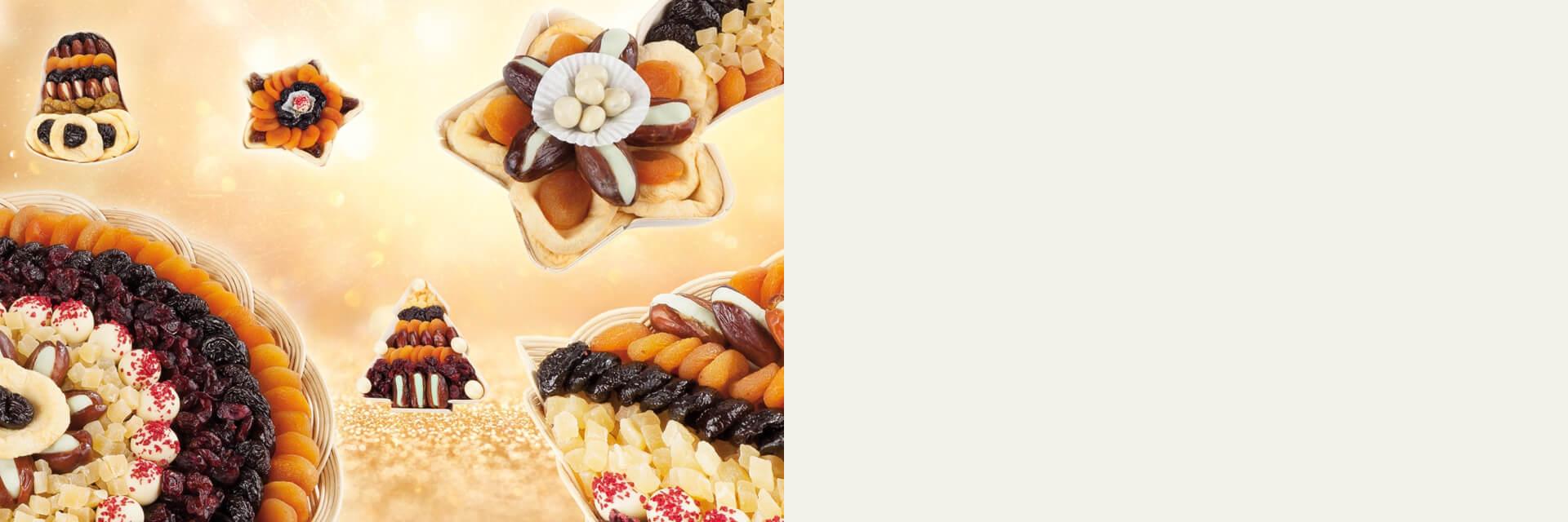 Zdravější mlsání a mlsání na vánoce - sušené ovoce, ořechy, čokoláda a marcipán | FruTree